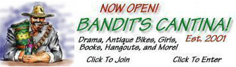 Now Open! Bandit's Cantina!