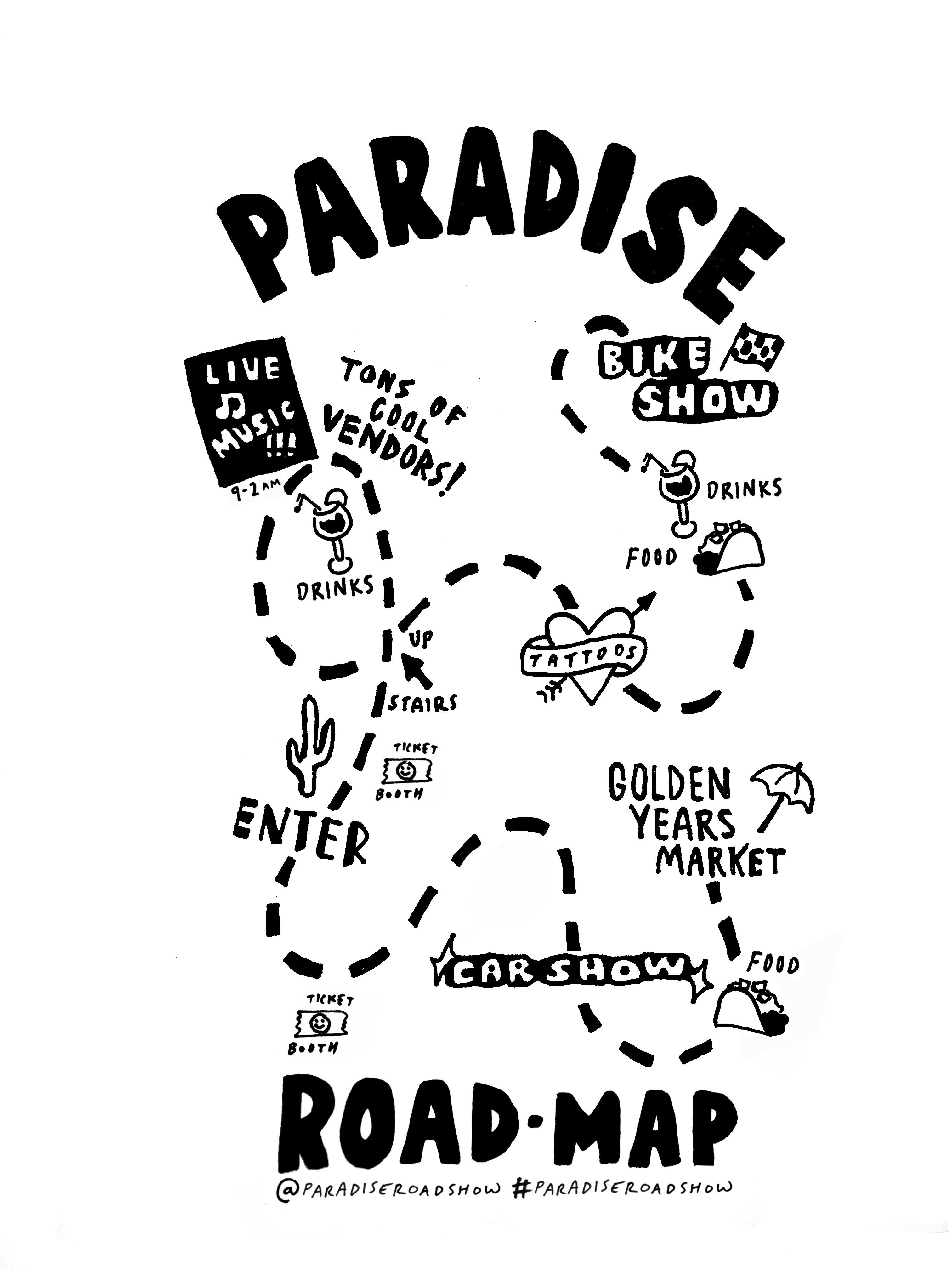 Paradise Road Show this Weekend