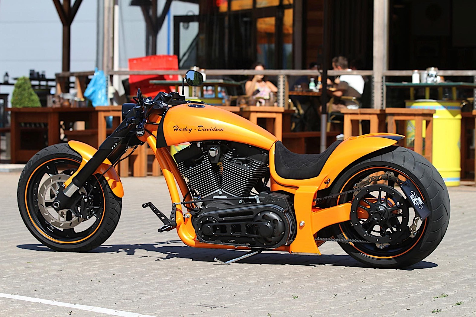 Harley-Davidson RS Lambo Is How a Supercar Looks Like on ...